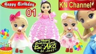 KN Channel tổ chức tiệc sinh nhật tháng 1 BÁNH KEM KIỂU ĐỘC LẠ BIRTHDAY PARTY TOYS