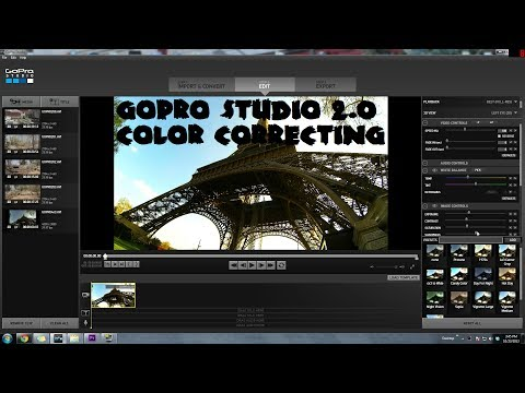GoPro Studio 2.0 Easy Color Correcting