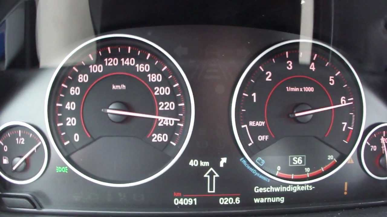 Bmw Speed Warning 2013 Bmw 335i Xdrive Top Speed
