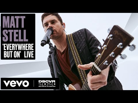 Matt Stell - Everywhere But On (Live) | Vevo DSCVR Artists to Watch 2020