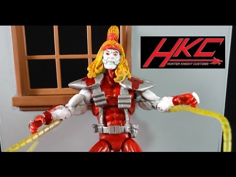 Custom OMEGA RED Marvel Universe action figure review made by Hunter Knight Customs