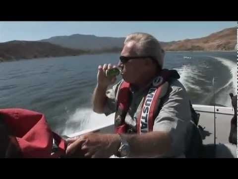 Bill Siemantel coaching Roland Martin on the fine art of swimbait fishing