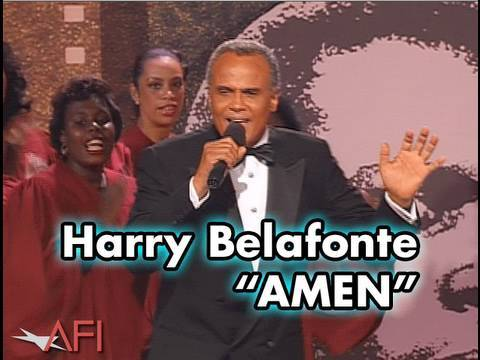 Harry Belafonte Sings AMEN at Sidney Poitier
