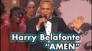 Harry Belafonte Sings AMEN at Sidney Poitier's AFI Life Achievement Award