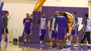 Kobe Bryant Returns To Practice!
