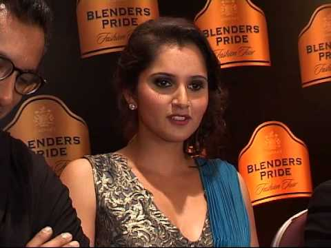 Bnb News-saniya Mirza On Ramp Walk At Blender Pride Fashion Week. video