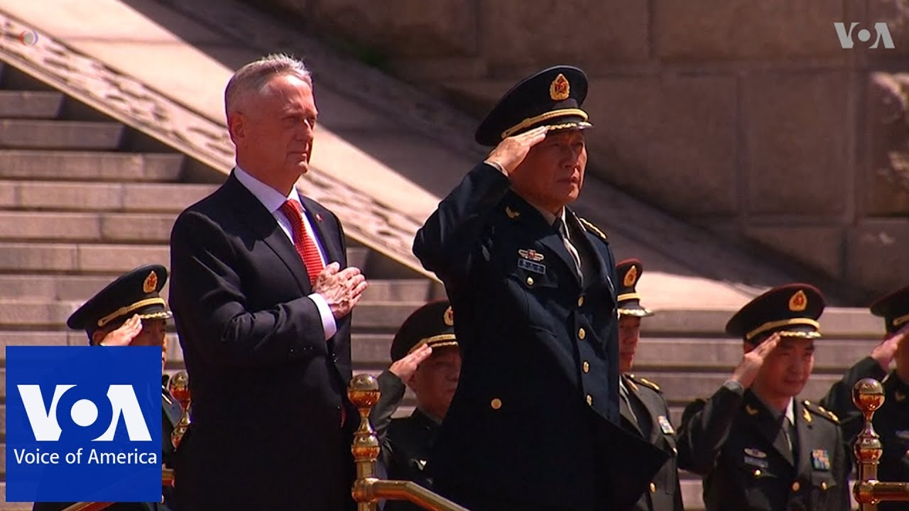 US Defense Chief Meets with Chinese President, Defense Minister