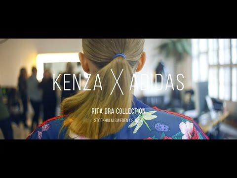 Behind The Scenes: Kenza x adidas Rita Ora collection