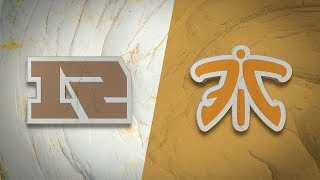 RNG vs FNC | Worlds Group Stage Day 4 | Royal Never Give Up vs Fnatic (2019)