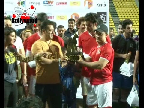 Salman KhanTiger Shroff Aamir Hrithik Imraan & Others at Charity...