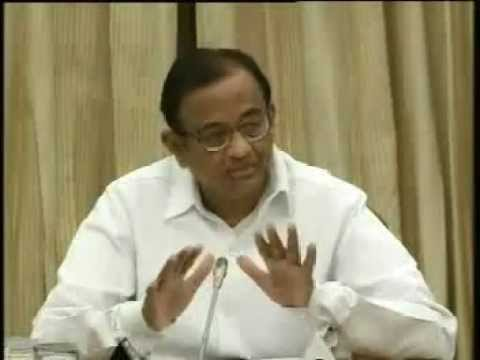 Finance Minister Mr. P Chidambaram briefing the media on GAAR