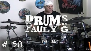 The Cult - Rise (Drum Cover) by Paul Gherlani
