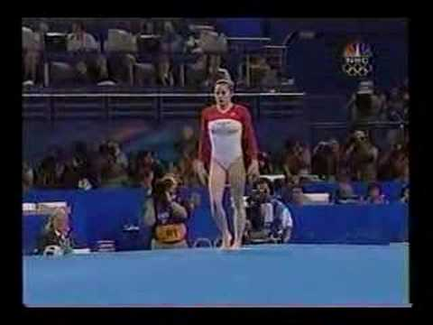 Gymnastics Olympic AA final 2000 part 13
