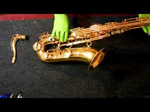Repairman's Overview: Couf Superba I Tenor Saxophone