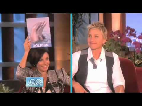 Courteney Cox On Ellen :)
