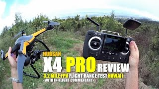 HUBSAN X4 PRO H109s FPV GPS QuadCopter Review - Part 3 - [Range Test With 3D Gimbal & GitUp Git2]