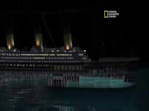 TITANIC sinking in real time.