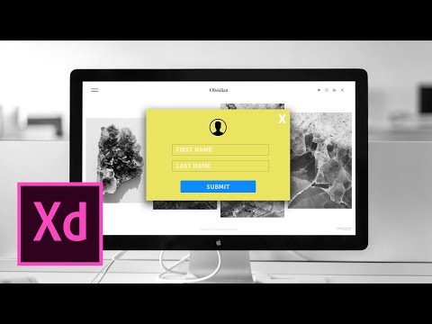 How to Create a Popup Modal in Adobe XD