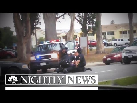 Caught On Camera: Police Under Scrutiny | NBC Nightly News