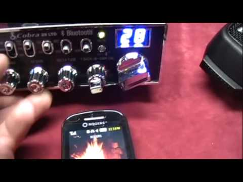 CB RADIO (QUBEC) CB Cobra 29LTDBT bluetooth Programation cb jacques