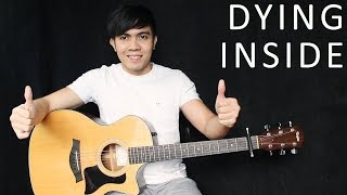 Download Lagu Dying Inside - Darren Espanto - Timmy Thomas (fingerstyle guitar cover + free tab) Gratis STAFABAND