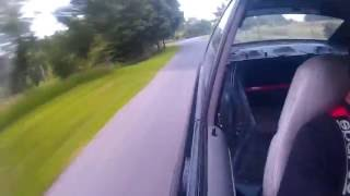 BMW E36 328i Burnout