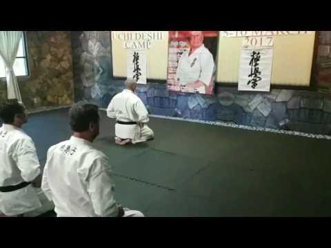 JUDD REID Uchi Deshi Kyokushin Karate Camp Thailand Mar 2017