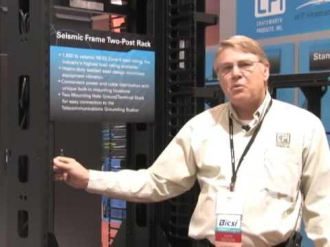 CPI Seismic Frame Two-Post Rack Overview