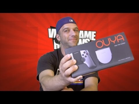 Ouya System Review (Overview & Unboxing)-Gamester81