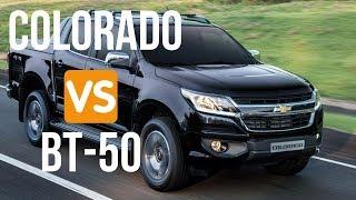 Chevrolet Colorado VS Mazda BT-50