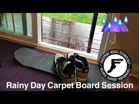 Joey Brezinski Rainy Day Carpet Boarding