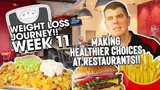 Making Healthier Food Choices at Restaurants and While Traveling!!