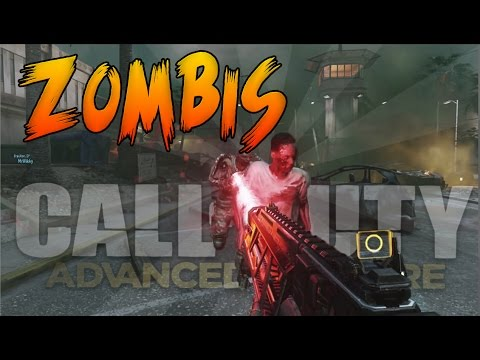 Advanced Warfare - Como Conseguir Los Zombis + Camuflaje Zombi - Zombis Advanced Warfare