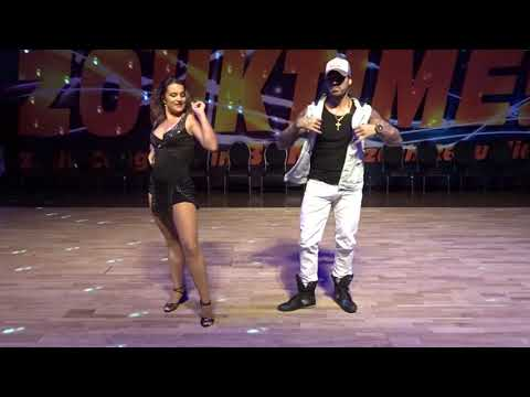 ZoukTime2018: with Natasha & Renato in an improvised performance ~ Zouk Soul