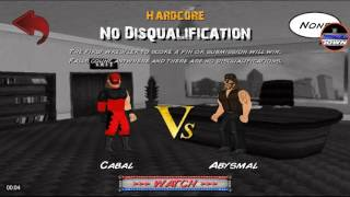 WWE VS TNA 2011 dream matches:Kane(wwe) vs abyss(tna)
