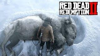 Охота на ЛЕГЕНДАРНОГО БИЗОНА - RED DEAD REDEMPTION Прохождение #14