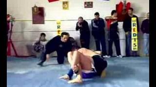 Feri Ibrahim 1st mma fight