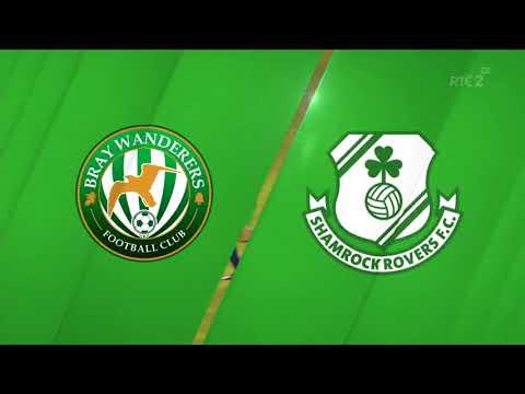 HIGHLIGHTS: Bray Wanderers 0- 3 Shamrock Rovers