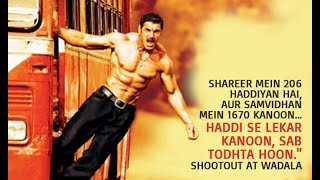Shootout At Wadala Full Movie. John abraham