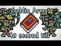 Youtube replay - Terraria - Goblin Army in 40 second...