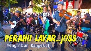 """Download Lagu Berasa Nonton Panggung Profesional - PERAHU LAYAR versi Pengamen Jogja """"ASTRO ACOUSTIC"""" Keren Sekali Gratis STAFABAND"""