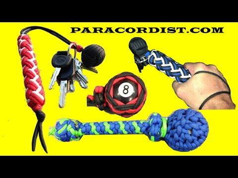 Paracordist Impact Weapons. Paracord Monkeys Fists VS. Blackjacks and Saps