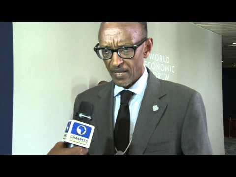 President Kagame speaks on free travel at World Economic Forum Africa 2014