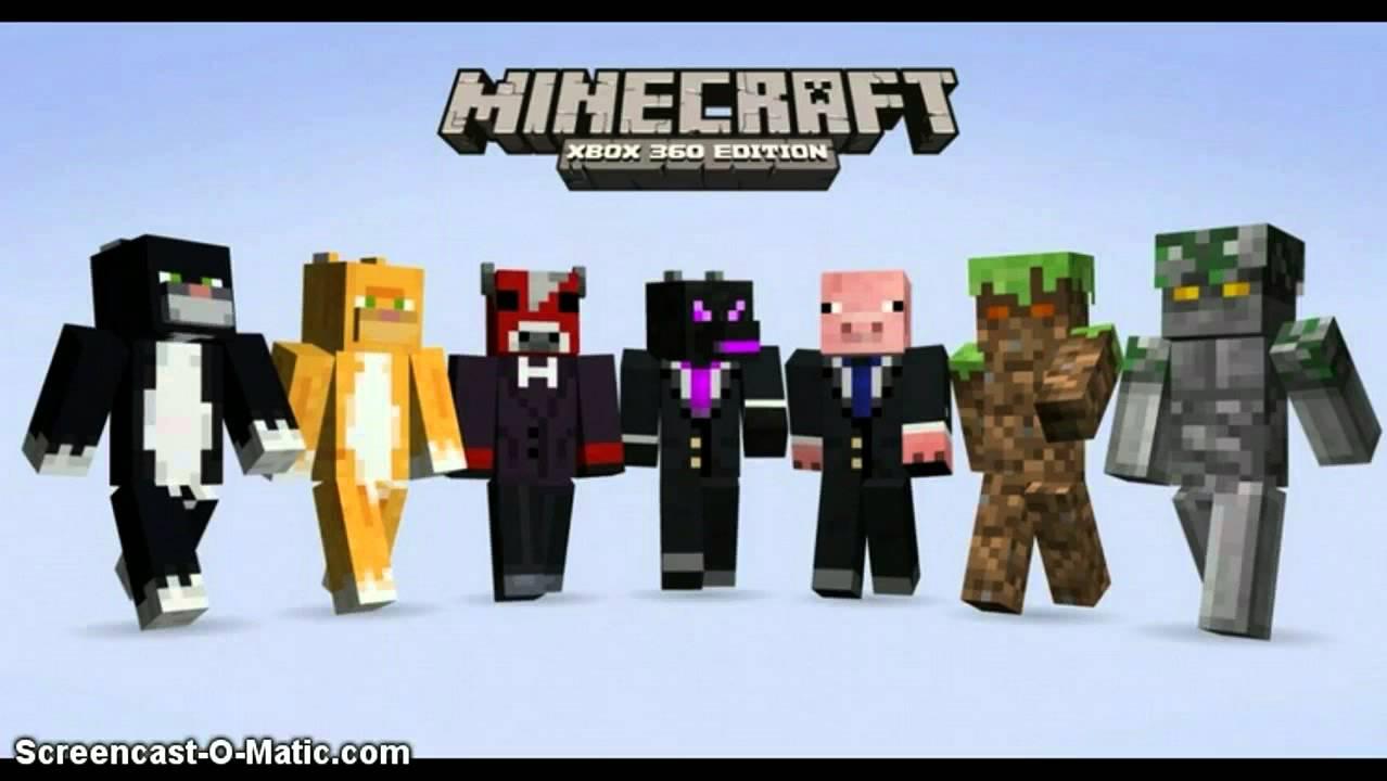 Xbox 360 Minecraft Skins Enderman Minecraft Xbox 360 update-