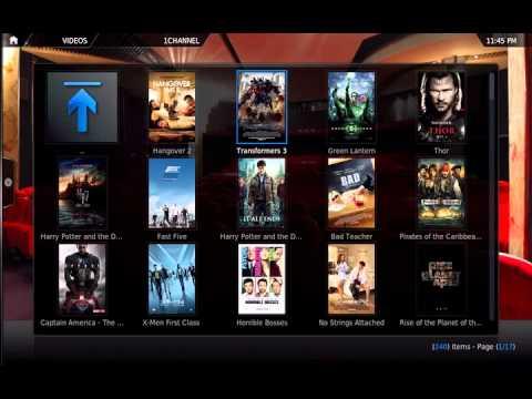1Channel XBMC Video Add-on