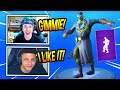 "NINJA & MYTH REACT TO *NEW* ""POP LOCK"" EMOTEDANCE! *EPIC* Fortnite FUNNY & SAVAGE Moments"