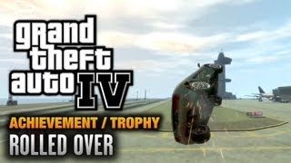 GTA 4 - Rolled Over Achievement / Trophy (1080p)