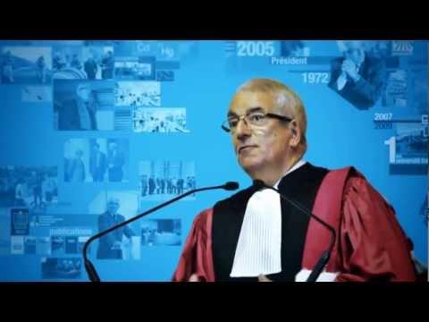 Alain Boudou, doctorat honoris causa de l'Université du Québec sous l'égide de l'INRS