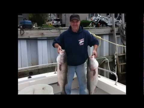 Sandy Hook Striper and fluke fishing