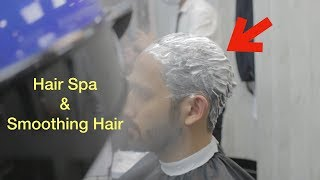 Hair Spa & Dandruff Hair Treatment - Haircut transformation & Best Hairstyle for Men  #20